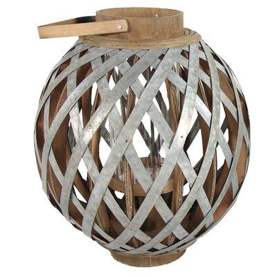 Swansea Globe Lantern Size: 16.5 H x 14.3 W x 14.3 D