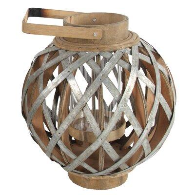 Swansea Globe Lantern Size: 12.8 H x 11.5 W x 11.5 D
