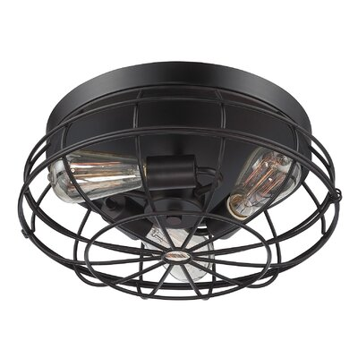Cheke Flush Mount Finish: English Bronze
