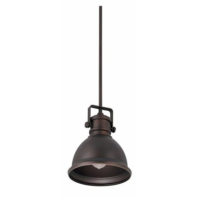 Rhodes Mini Pendant Finish: Burnished Bronze