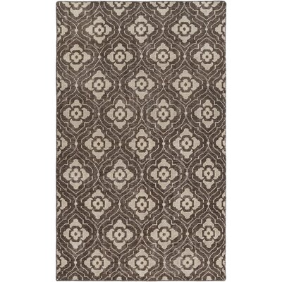 Cypress Flatweave in Brown Rug Size: 8 x 11