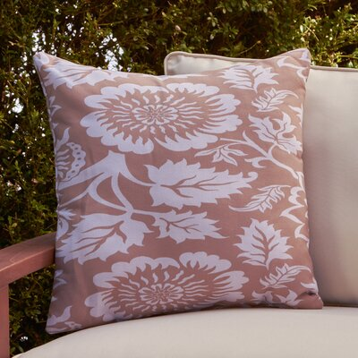 Amara Outdoor Pillow Size: 18 H x 18 W x 4 D, Color: Purple