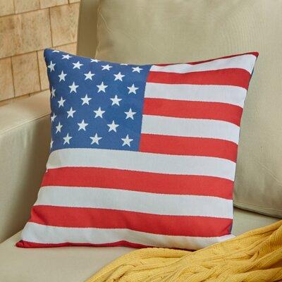 Independence Throw Pillow Size: 18