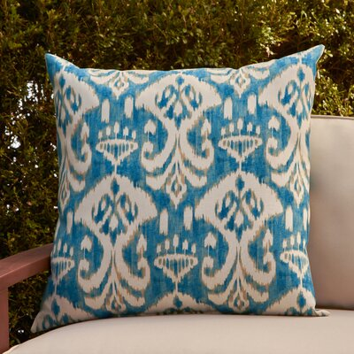 Cecily Outdoor Pillow Color: Rivali Waterside