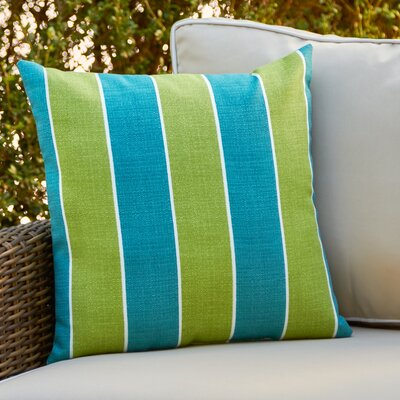 Abela Outdoor Pillow Color: Teal