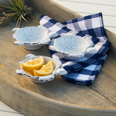 Sea Turtle Mini Chip and Dip Trays