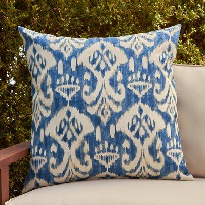 Cecily Outdoor Pillow Color: Rivali Indigo