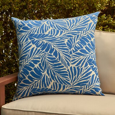 Phaedra Pillow Cover Color: Malkus Ocean Blue