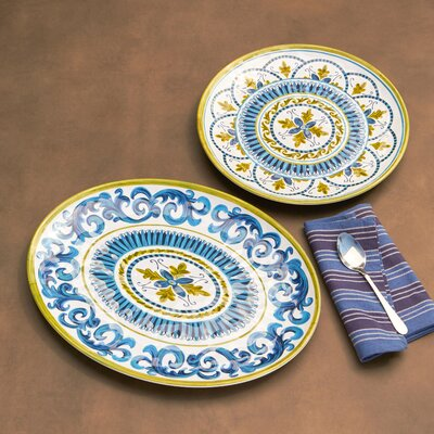 2-Piece Susan Melamine Platter Set