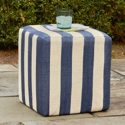 Orford Pouf Upholstery: Navy