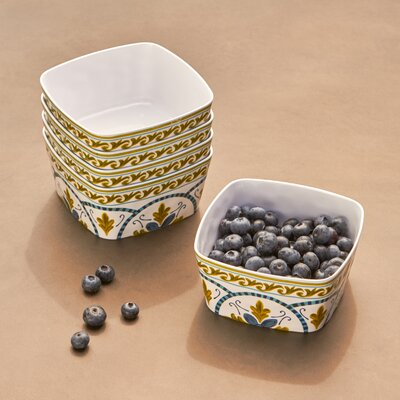 Anacapri Ice Cream Melamine Dessert Bowl