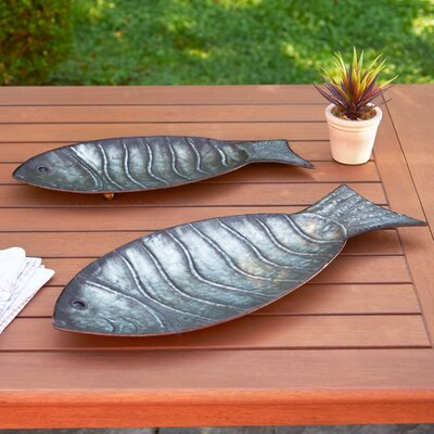Galvanized Fish Trays
