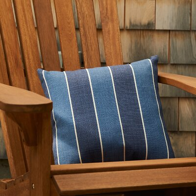 Abela Outdoor Pillow Color: Indigo