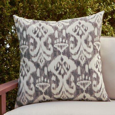 Cecily Outdoor Pillow Color: Rivali Graphite