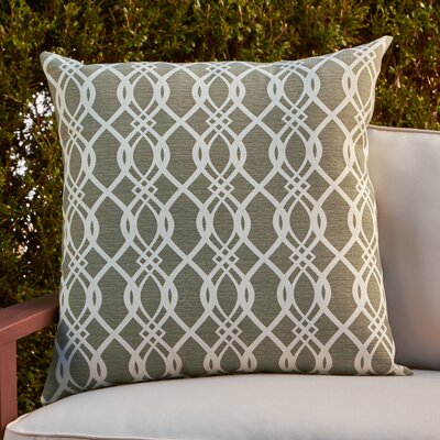 Monica Outdoor Pillow Color: Olive