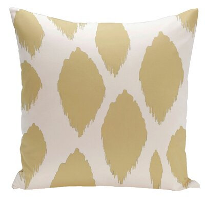 Ilana Outdoor Pillow Color: Yellow, Size: 16 H x 16 W x 1 D