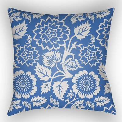 Amara Outdoor Pillow Size: 22 H x 22 W x 5 D, Color: Blue