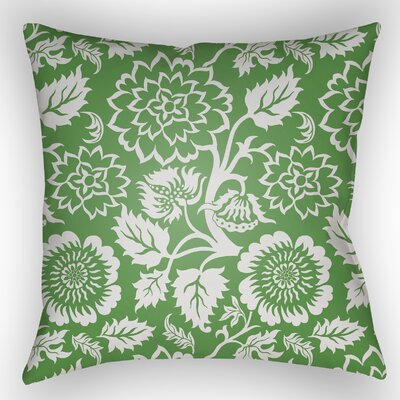 Amara Outdoor Pillow Size: 18 H x 18 W x 4 D, Color: Green