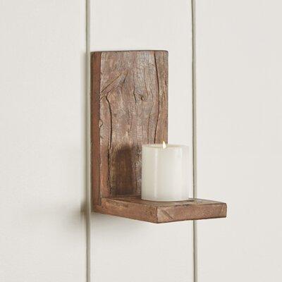 Short Recycled Wood Shelf Size: 9