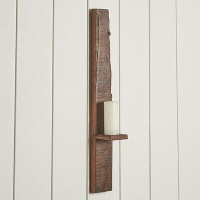 Short Recycled Wood Shelf Size: 35