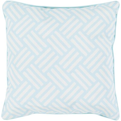 Abilene Outdoor Pillow Size: 16 H x 16 W x 4 D, Color: Pool