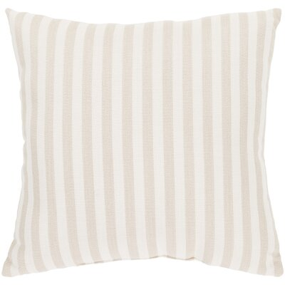Outdoor Pillow-White Stripe Small