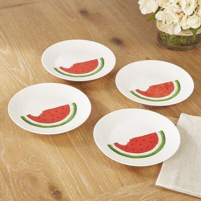 Castalia Watermelon Dinner Plate