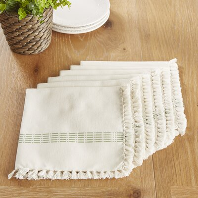 Guildford Napkins Color: Mint