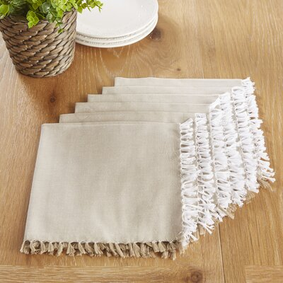 Huddersfield Napkins Color: Plaza Taupe