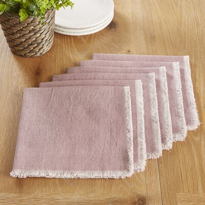 Arundel Napkins Color: Mauve
