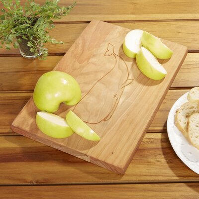 Whale Cherry Cutting Board