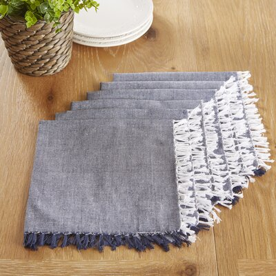 Huddersfield Napkins Color: Blue