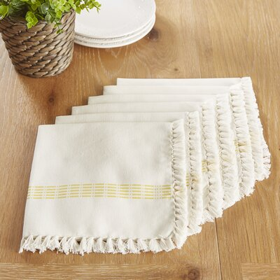 Guildford Napkins Color: Lemon Drop