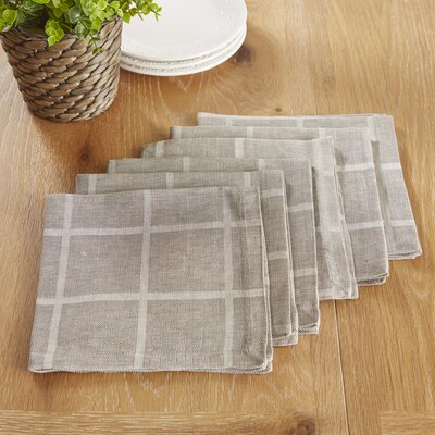 Jonesport Napkins Color: Gray