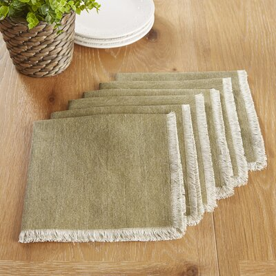 Arundel Napkins Color: Olive