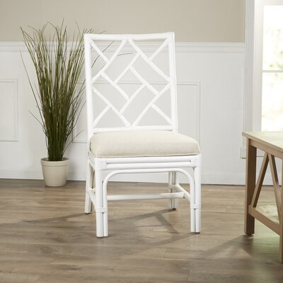 Moretti Side Chair Color: White