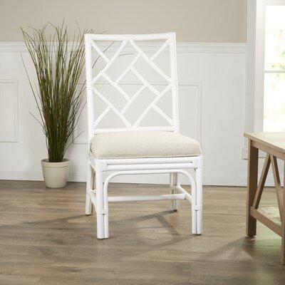 Moretti Side Chair Color: White