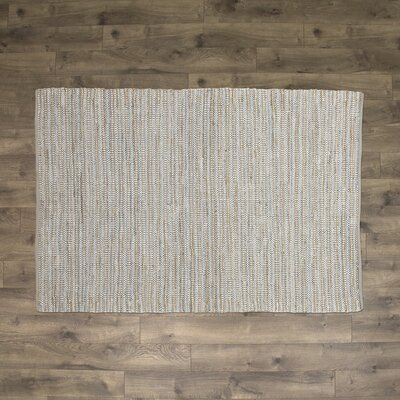 Holden Hand-Woven Fog Area Rug Rug Size: Rectangle 5 x 7