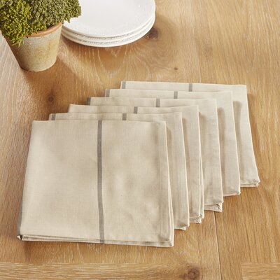 Topsfield Napkins Color: Gray
