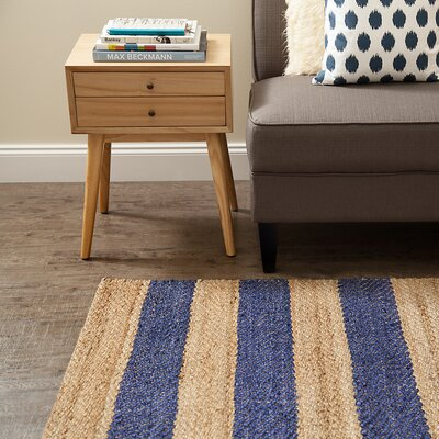 Haywood Navy Jute Rug