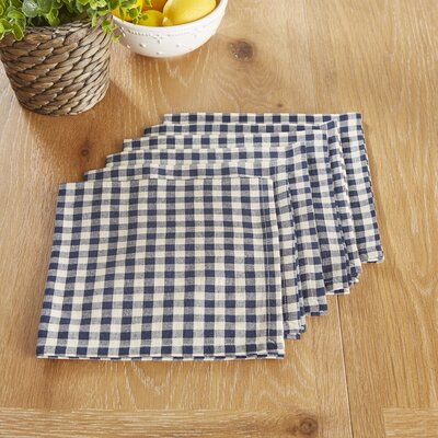 Otisfield Napkins Color: Navy