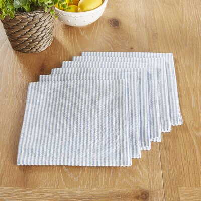 Northallerton Napkins Color: Blue