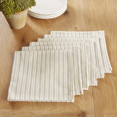 Hatchville Napkins Color: Plaza Taupe