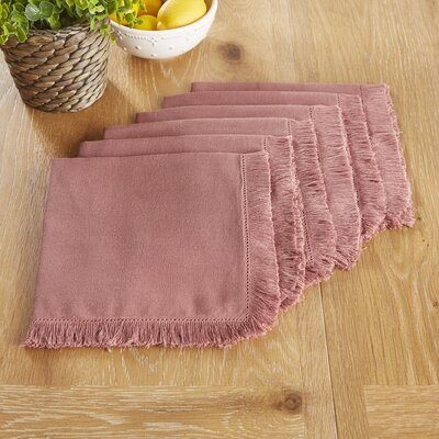 Northfield Napkins Color: Mauve