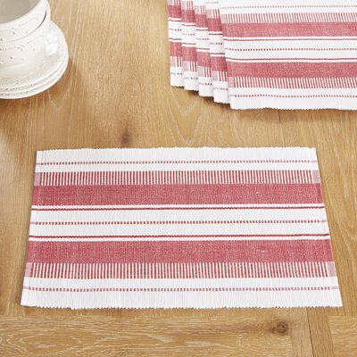 Gartmore Placemats Color: Barbados Cherry