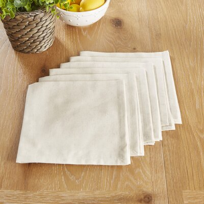 Mashpee Napkins Color: White