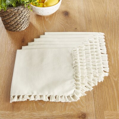 Robbinston Napkins Color: Light Gray