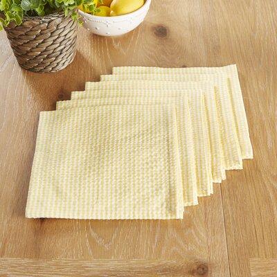 Stonington Napkins Color: Yellow