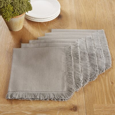 Northfield Napkins Color: Medium Gray