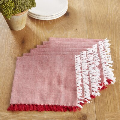 Huddersfield Napkins Color: Barbados Cherry